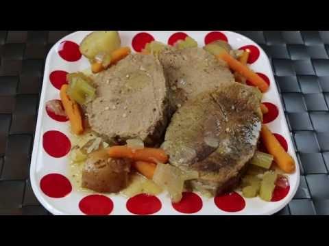 Slow Cooker Pot Roast Recipe –  Easy Crockpot Roast