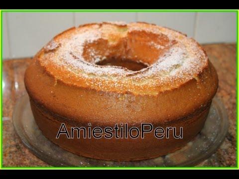 Chocolate Chifon Cake Procedure