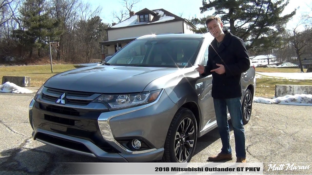 Review 2018 Mitsubishi Outlander Gt Plug In Hybrid The