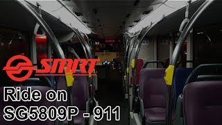 SMRT MAN ND323F (A95) [Gemilang - Batch 3, Euro V] (SG5809P on 911)