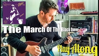 The March Of The Black Queen - Guitar Play Along (Guitar Tab) - Queen Live At The Rainbow 1974