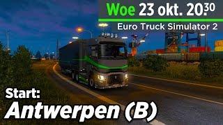 🔴Live! WE STARTEN IN Antwerpen (B) | Euro Truck Simulator 2 MP | ProMods | JCW VTC Rijden!