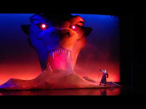Aladdin Musical Spectacular! HD 1080p 2016 Full Show