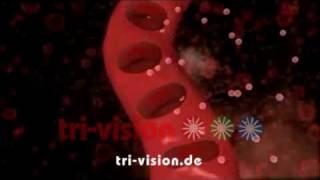 Die menschliche Atmung (mit Ton) --  human respiration