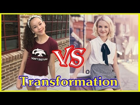 Olivia Haschak Vs Mckenna Grace transformation from 1 to 12 years old