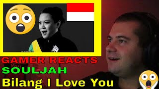 🎮GAMER REACTS to - 🇮🇩🇯🇲SOULJAH - Bilang I Love You (Official Music Video)