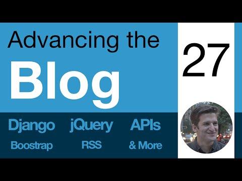 Advancing the Blog - 27 - Breadcrumb Navigation