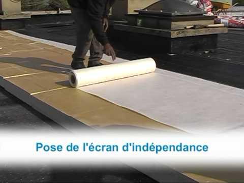 Efigreen Duo - Isolation Thermique Des Toitures Terrasses - Youtube