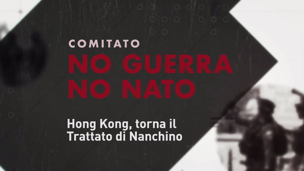 Hong Kong, torna il Trattato di Nanchino (IT, ENG, FR, RO, PT)