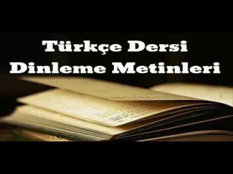 Issız Ada 6. Sınıf Türkçe Başak Yayınları Dinleme Metni