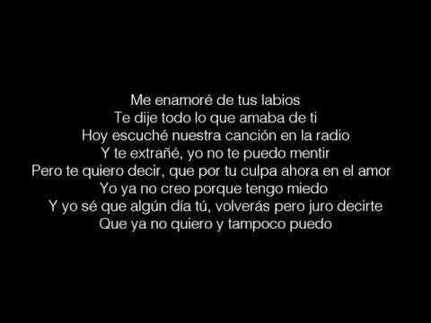 Maikel DeLaCalle - Love yourself  Letra ( Cover en Español )