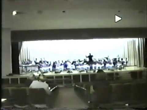 East Meck High School Symphonic Band - March 1997