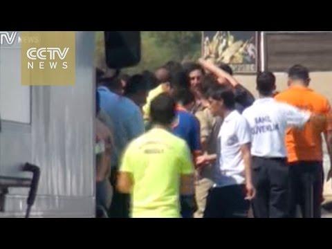 22 refugees drown as boat capsizes near Greek island