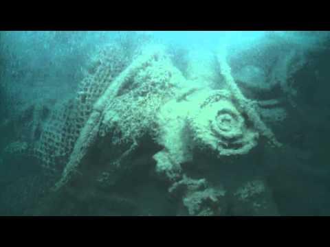 Video Subacqueo Rinvenimento Savoia Marchetti