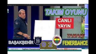Takım oyunu / Erman Toroğlu Başakşehir 0-2 Fenerbahçe maç yorumu 11 şubat 2018 - canlı yayın - tamam