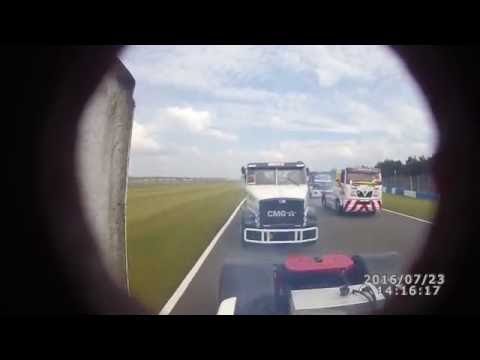 Donington Park Engine Blow up Simon Cole 2016