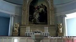 Jumalanpalvelus Helsingin tuomiokirkossa