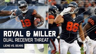 Eddie Royal's Huge Catch Sets Up Zach Miller TD! | Lions vs. Bears | NFL