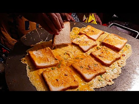 India Street Food - EGG OMELETTE SANDWICH