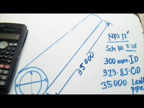 How To Find Approximate Weight of Pipe - PipingWeldingNon  DestructiveExamination-NDT