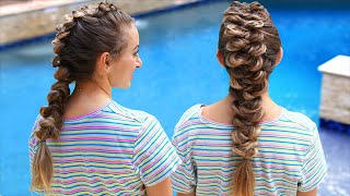 How to Create a French Wrap Braid (ft Brooklyn from BrooklynAndBailey)