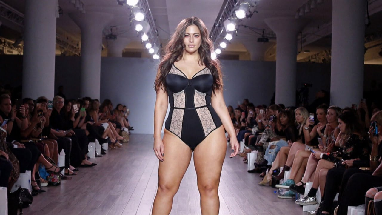 b8b511b291c Ashley Graham Wants To Walk The Runway at Victoria's Secret Fashion Show -  YouTube