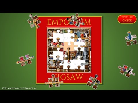 Emporium Jigsaw - A Jigsaw Puzzle Game Made In PowerPoint - Free To Play / Download