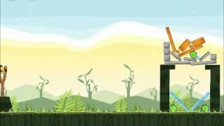 Official Angry Birds Walkthrough Poached Eggs 2-7