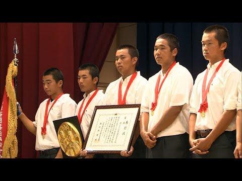 100回目の夏の甲子園へ!香川代表・丸亀城西高校で壮行会