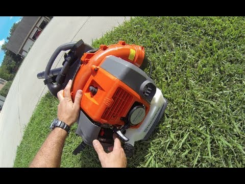 Leaf Blower Comparison Featuring Stihl Amp Redmax Backpacks