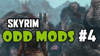 Skyrim Odd Mods #4 - INTERNET TROLLS
