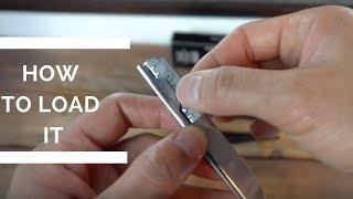How To Load A Straight Razor With Double Edge Razors