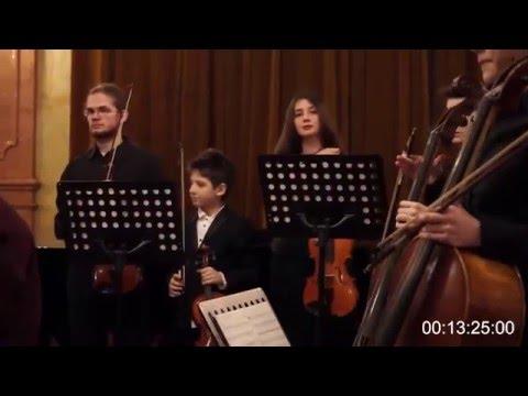 High school string orchestra - Respighi & Sibelius [Live] [11yr]