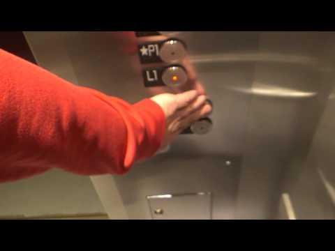 Kone traction elevators outside Fashion Centre Pentagon City Arlington VA