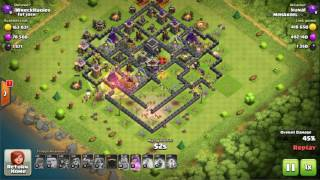 High loot strategy with low level troops clash of clans