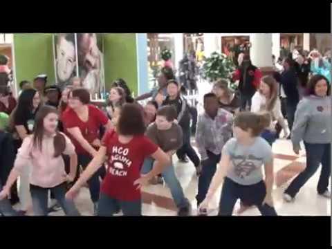 Nettleton Middle School Flash Mob