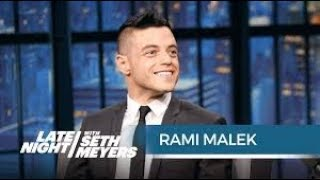Video Rami Malek speaking Arabic is adorable😂 رامي مالك  أفضل ممثل في هوليوود بيتكلم عربي download MP3, 3GP, MP4, WEBM, AVI, FLV Agustus 2018