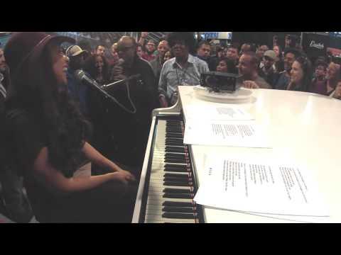 Sheléa Performance featuring Stevie Wonder
