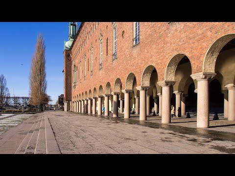 Sweden, Stockholm City Hall virtual walking tour 4K #36