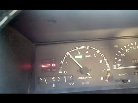 Toyota 4AGE : How to set engine idle speed, super easy! (AE86)