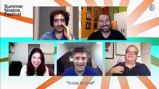 Comedy with Greek Stand Up Comedians | SNFestival RetroFuture