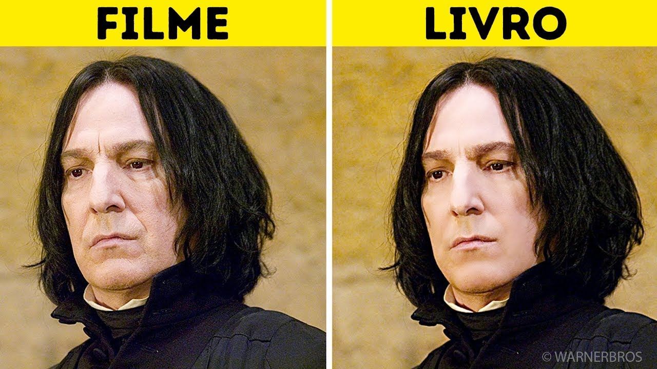 personagens de harry potter nos livros vs nos filmes youtube personagens de harry potter nos livros vs nos filmes