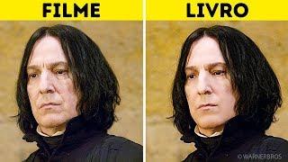 Personagens de Harry Potter: Nos Livros Vs. Nos Filmes
