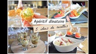 aperitif dinatoire 5 idees de recettes