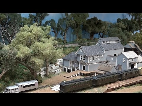 Layout Tour: Ken Patterson's Massive Modular HO Scale Layout often featured in What's Neat