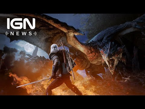Geralt is Coming to Monster Hunter World Next Month - IGN News thumbnail
