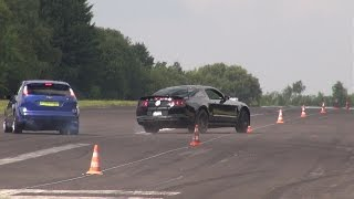 WATCH OUT!! SHELBY GT500 on the DRAG STRIP!
