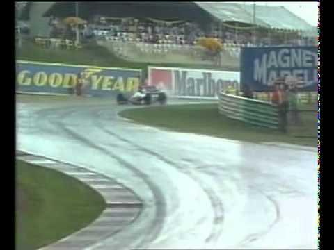 1993 South Africa Grand Prix finish