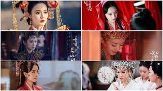 Điểm danh 9 cô dâu cổ trang xinh đẹp nhất trên màn ảnh Hoa ngữ gần đây