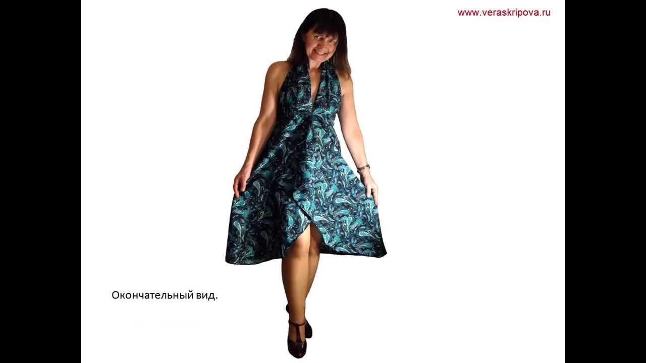 Научится шить платья видео